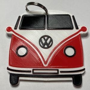 VW T1 kulcstartó, Táska, Divat & Szépség, Kulcstartó, táskadísz, Férfiaknak, Otthon & lakás, Dekoráció, Ékszer, kiegészítő, Mindenmás, 3D nyomtatással készült, egyedi kulcstartó. A VW T1 a 60-as évek talán legmenőbb kisbusza volt, gond..., Meska