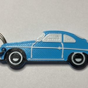 Porsche 356 kulcstartó, Férfiaknak, Táska, Divat & Szépség, Kulcstartó, táskadísz, Ékszer, Hagyományőrző ajándékok, Mindenmás, 3D nyomtatással készült, egyedi kulcstartó. A Porsche 356 a cég egyik első autója, amelyre még a leg..., Meska