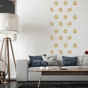 Falmatrica_StarWars 01, Gyerek & játék, Dekoráció, Otthon & lakás, Falmatrica, Gyerekszoba, Fotó, grafika, rajz, illusztráció, Remek hangulatot varázsol ez a faldekoráció a nappalidba vagy akár a lakás más helységébe. Vágógéppe..., Meska
