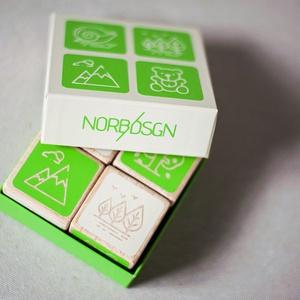 Kreatív fa memóriakockák - figurás (norbDSGN) - Meska.hu