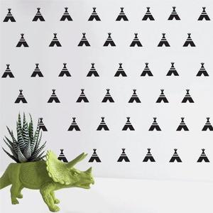 Falmatrica_ Indián dekor 2, Gyerek & játék, Dekoráció, Otthon & lakás, Falmatrica, Gyerekszoba, Fotó, grafika, rajz, illusztráció, Remek hangulatot varázsol ez a faldekoráció lakásod bármely helységébe. Vágógéppel kivágott öntapadó..., Meska