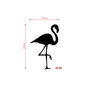 Falmatrica_Flamingók (norbDSGN) - Meska.hu