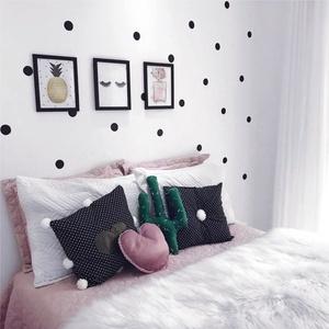 Falmatrica_Polka dots 1, Gyerek & játék, Dekoráció, Otthon & lakás, Falmatrica, Gyerekszoba, Fotó, grafika, rajz, illusztráció, Remek hangulatot varázsol ez a faldekoráció lakásod bármely helységébe. Vágógéppel kivágott öntapadó..., Meska