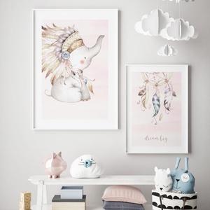 Babaszoba fali dekoráció, babaposzter - álomfogó - falikép, keret nélkül, Otthon & lakás, Dekoráció, Kép, Lakberendezés, Falikép, Gyerek & játék, Gyerekszoba, Baba falikép, Fotó, grafika, rajz, illusztráció, Papírművészet, Babaszoba fali dekoráció, babaposzter - álomfogó - több méretben, keret nélkül.\n\nAz ár 1 képre vonat..., Meska