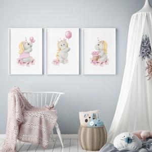 Babaszoba fali dekoráció, - unikornis - falikép, keret nélkül, Otthon & lakás, Dekoráció, Kép, Lakberendezés, Falikép, Gyerek & játék, Gyerekszoba, Baba falikép, Fotó, grafika, rajz, illusztráció, Papírművészet, Babaszoba fali dekoráció, babaposzter - unikornis - több méretben, keret nélkül.\n\nAz ár 1 képre vona..., Meska