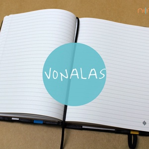 XL-es vonalas belső (noteshell) - Meska.hu