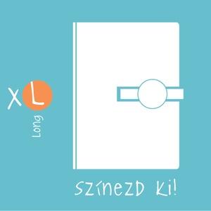 XL,'KORONGOS' típusú notesz/határidőnapló BORÍTÓ-Állítsd össze a saját noteszedet! (noteshell) - Meska.hu