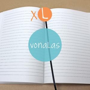 XL-es vonalas belső, Otthon & Lakás, Jegyzetfüzet & Napló, Papír írószer, * 14x20 cm-es (XL-es méretű) vonalas BELSŐ  * 100% újrahasznosított papírból készült  * 200 OLDALAS!..., Meska