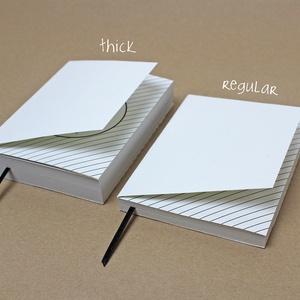 XL 'thick' PONTHÁLÓS noteszBELSŐ (noteshell) - Meska.hu
