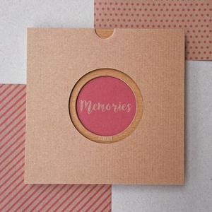 ECO leporello/kis fotóalbum-védőtokkal-rózsaszín mintás-újrahasznosított papírból-falra akasztható-lányoknak, Album & Fotóalbum, Papír írószer, Otthon & Lakás, Könyvkötés, Újrahasznosított alapanyagból készült termékek, Keménytáblás, falra akasztható leporello / kis fotóalbum védőtokkal - ECO kollekció - 100% újrahaszn..., Meska