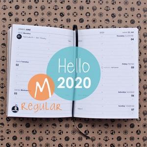 M-es HETI beosztású határidőnapló belső 2020 (noteshell) - Meska.hu