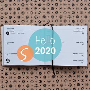 S-es HETI beosztású határidőnapló belső 2020, Otthon & lakás, Naptár, képeslap, album, Naptár, Könyvkötés, 2020-as HATÁRIDŐNAPLÓ belív cserélhető belsejű Noteshell határidőnaplóba\n\n- mérete: S  (borító méret..., Meska