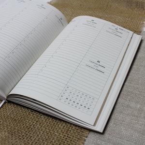 XL-es HETI beosztású határidőnapló belső 2021, Otthon & Lakás, Papír írószer, Naptár & Tervező, Könyvkötés, 2021-es HATÁRIDŐNAPLÓ belív cserélhető belsejű Noteshell határidőnaplóba\n\n- mérete: XL  (borító mére..., Meska