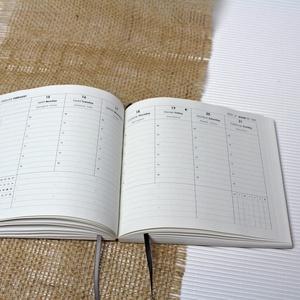 L-es HETI beosztású határidőnapló belső 2021, Otthon & Lakás, Papír írószer, Naptár & Tervező, 2021-es HATÁRIDŐNAPLÓ belív cserélhető belsejű Noteshell határidőnaplóba  - mérete: L  (borító méret..., Meska