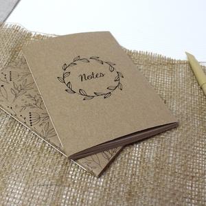 ECO kis ponthálós füzet - páros csomag - virágos - feliratos - újrahasznosított papírból, Otthon & Lakás, Papír írószer, Jegyzetfüzet & Napló, Könyvkötés, Újrahasznosított alapanyagból készült termékek, Újrahasznosított papírból készült ponthálós füzet - Páros csomag\nNoteshell ECO kollekció\n\n- 2 db füz..., Meska