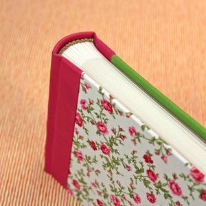 S pink-zöld-fehér, rózsás fotóalbum - Meska.hu