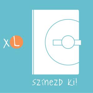 XL-es, \'KORONGOS +\'  határidőnapló/notesz-Állítsd össze a saját noteszedet!, Otthon & Lakás, Papír írószer, Naptár & Tervező, Könyvkötés, XL-es (A/5) korongos + (click-in +) CSERÉLHETŐ BELSEJŰ notesz / határidőnapló \n- egyedi színösszeáll..., Meska