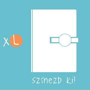 XL-es, \'KORONGOS\'  határidőnapló/notesz-Állítsd össze a saját noteszedet!, Otthon & Lakás, Papír írószer, Naptár & Tervező, Könyvkötés, XL-es (A/5) korongos (click-in ) CSERÉLHETŐ BELSEJŰ notesz / határidőnapló \n- egyedi színösszeállítá..., Meska