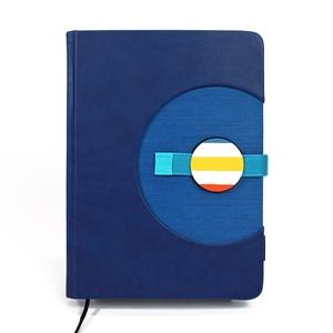 A/5 (régi XL) 200, KORONGOS + határidőnapló/notesz cserélhető belívvel - sötétkék, Otthon & Lakás, Papír írószer, Naptár & Tervező, Könyvkötés, Meska
