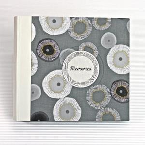 M fekete-fehér-arany fotóalbum, Otthon & Lakás, Papír írószer, Album & Fotóalbum, Könyvkötés, Meska