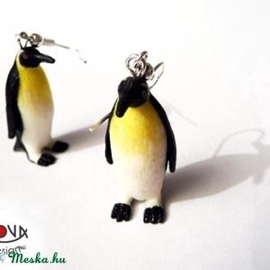Pingvin fülbevaló  (novadesignshop) - Meska.hu