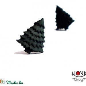 Fenyőfa fülbevaló (novadesignshop) - Meska.hu