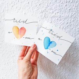 Tiéd a szívem - akvarell festmény (eredeti) (novannart) - Meska.hu