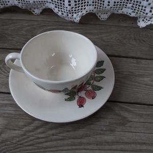Csipkebogyós teás kerámia csésze (ntakeramia) - Meska.hu