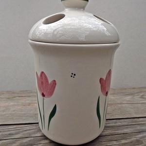 Tulipános tavasz, kerámia fürdőszoba szett (ntakeramia) - Meska.hu