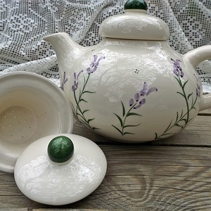 Levendulás teás kerámia- 2 személyes készlet (ntakeramia) - Meska.hu