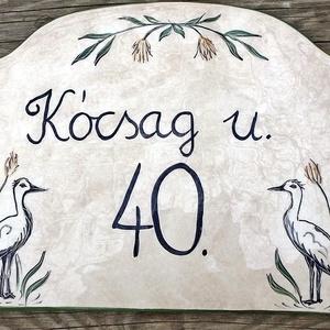 Kerámia ház és utcanév tábla (ntakeramia) - Meska.hu
