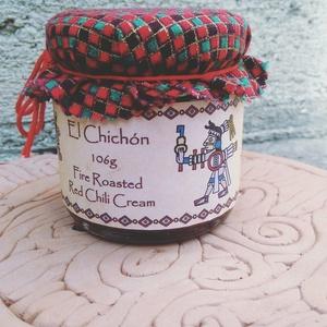El Chicón - grillezett chilikrém 106g, Kulinária (Ízporta), Fűszer, Élelmiszer előállítás, Ez a krém egy híres mexikói vulkánról kapta a nevét. \nGrillezett piros chilipaprika (jalapeno, cayen..., Meska