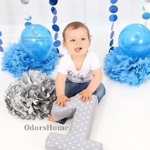 1 -es számpárna - egyes szám alakú forma párna baba hónapjainak vagy éveinek fotózásához, első születésnapra ajándék, Gyerek & játék, Gyerekszoba, Varrás, Egyre népszerűbb manapság megörökíteni a kisbabák, gyerekek mérföldköveit egy-egy fotózás alkalmával..., Meska