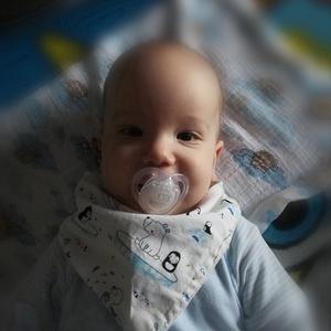 Nyálkendő babáknak (3 darab) / előke bébiknek, Előke & Nyálkendő, Babaruha & Gyerekruha, Ruha & Divat, Varrás, Aranyos állatmintás baba nyálkendő, felül mintás pamut, alul jó nedvszívó fehér flanel anyagból. \nMé..., Meska