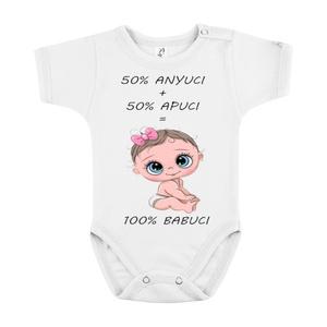 100 % babuci body, Ruha & Divat, Babaruha & Gyerekruha, Body, Mindenmás, 100 % pamut bodynk viselője bizonyára egy boldog baba, akit szülei imádnak. Ezt fejezheti ki saját t..., Meska