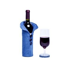 Italtartó, Dekoráció, Otthon & lakás, Férfiaknak, Esküvő, Táska, Táska, Divat & Szépség, Újrahasznosított alapanyagból készült termékek, A leggyakrabban használt borosüveghez. Garantáltan tetszeni fog! \n100 %-ban újrahasznosított farmerb..., Meska