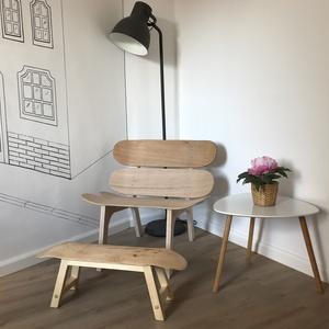Sitadella- Gördeszka szék, Bútor, Otthon & lakás, Szék, fotel, Férfiaknak, Legénylakás, Famegmunkálás, Ha szeretnél egy olyan ülőhelyet az otthonodban ami már a hazaérkezésed pillanatában mosolyt csal az..., Meska