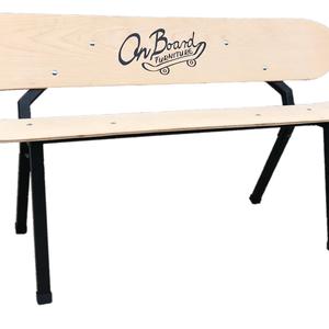 OnBoard Irony Bench- snowboard gördeszka 3 személyes pad, Férfiaknak, Otthon & lakás, Bútor, Pad, Szék, fotel, Vőlegényes, Famegmunkálás, Fémmegmunkálás, Az Irony Bench az első snowboard stílusú padunk, amelyen már 3 személy is kényelmesen elférhet. Megf..., Meska