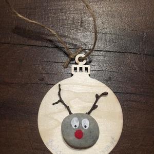 Karácsonyfa dísz, Karácsony & Mikulás, Karácsonyfadísz, Egyedi díszekkel öltöztesd különleges ruhába Karácsonyfádat! Bármilyen felirattal személyessé tehető..., Meska