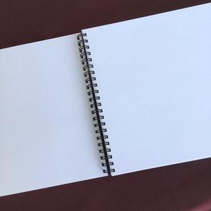 Lánybúcsú ajándék piros pöttyös emlékkönyv - Romantikus egyedi album - emlék a menyasszonynak - füzet / napló - 21x19cm - Meska.hu