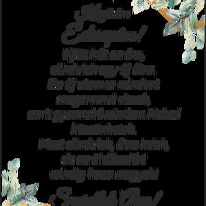 Szülőköszöntő ajándék szett (oromvirag) - Meska.hu