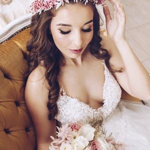 Szárazvirág fejdísz, Esküvő, Hajdísz, Fejkoszorú, Virágkötés, Meska