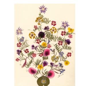 10 db Üdvözlőlap, préselt virág nyomat, ajándék, , Otthon & Lakás, Papír írószer, Képeslap & Levélpapír, Fotó, grafika, rajz, illusztráció, Mindenmás, 10 db Üdvözlőlap, préselt virág nyomat - FMS O 061\n\nA virágok életében, a préselés, olyan, mintha me..., Meska