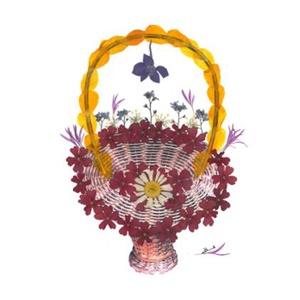 10 db Üdvözlőlap, préselt virág nyomat, ajándék, , Otthon & Lakás, Papír írószer, Képeslap & Levélpapír, Fotó, grafika, rajz, illusztráció, Mindenmás, 10 db Üdvözlőlap, préselt virág nyomat - FMS O 071\n\nA virágok életében, a préselés, olyan, mintha me..., Meska