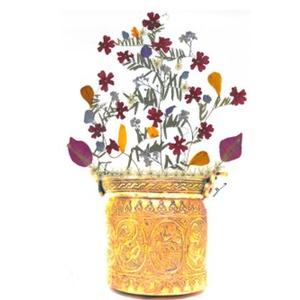 10 db Üdvözlőlap, préselt virág nyomat, ajándék, , Otthon & Lakás, Papír írószer, Képeslap & Levélpapír, Fotó, grafika, rajz, illusztráció, Mindenmás, 10 db Üdvözlőlap, préselt virág nyomat - FMS O 072\n\nA virágok életében, a préselés, olyan, mintha me..., Meska