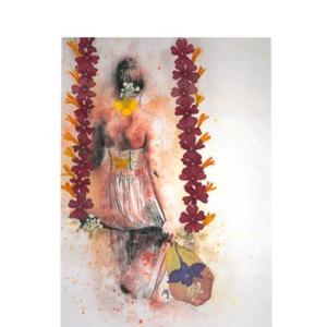 10 db Üdvözlőlap, préselt virág nyomat, ajándék, , Otthon & Lakás, Papír írószer, Képeslap & Levélpapír, Fotó, grafika, rajz, illusztráció, Mindenmás, 10 db Üdvözlőlap, préselt virág nyomat - FMS O 073\n\nA virágok életében, a préselés, olyan, mintha me..., Meska