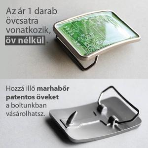 Nyomtatott áramkör  övcsat (kékeszöld) (ovcsatbolt) - Meska.hu
