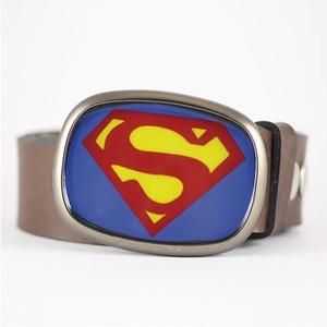 Superman övcsat (ovális), Övcsat, Öv & Övcsat, Ruha & Divat, Ékszerkészítés, Mindenmás, Ha SÜRGŐS, kérdezz vásárlás előtt, lehet, hogy van belőle kész darabom is.\n_________________________..., Meska