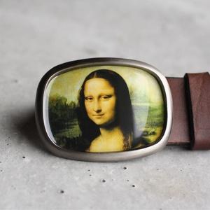 Mona Lisa övcsat (ovális), Övcsat, Öv & Övcsat, Ruha & Divat, Ékszerkészítés, Mindenmás, Ha SÜRGŐS, kérdezz vásárlás előtt, lehet, hogy van belőle kész darabom is.\n_________________________..., Meska