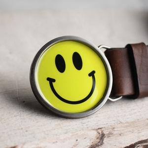 Smiley kerek övcsat, Övcsat, Öv & Övcsat, Ruha & Divat, Ékszerkészítés, Mindenmás, Ha SÜRGŐS, kérdezz vásárlás előtt, lehet, hogy van belőle kész darabom is.\n_________________________..., Meska